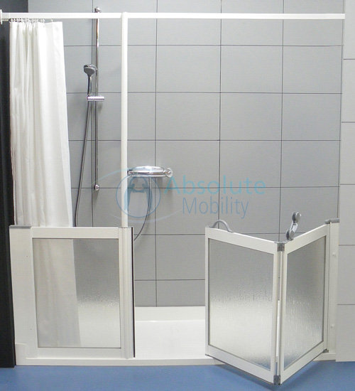 Accessible Shower Disabled Shower Absolute Mobility