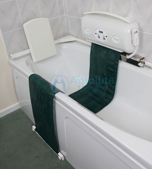 The Relaxa bath lift