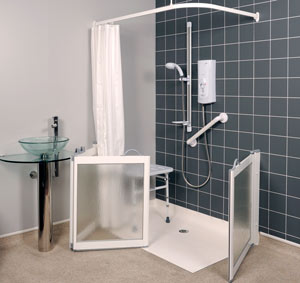 level access shower tray