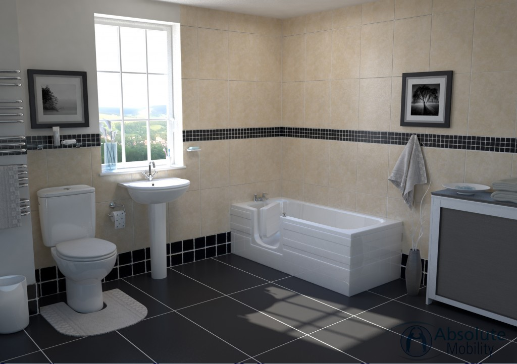 Aventis Full Lenght Walk In Bath without Lift