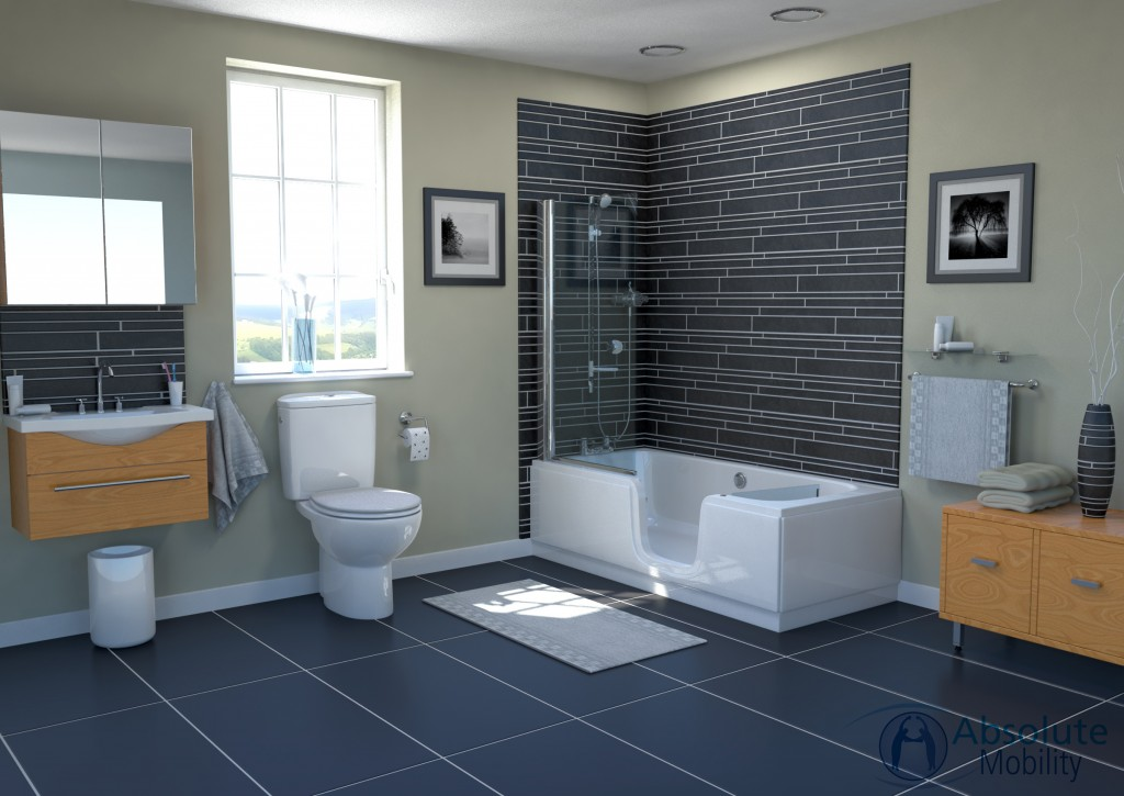 Talis Walk In Shower Bath