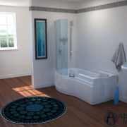 Paragon Lift Walk In Shower Bath