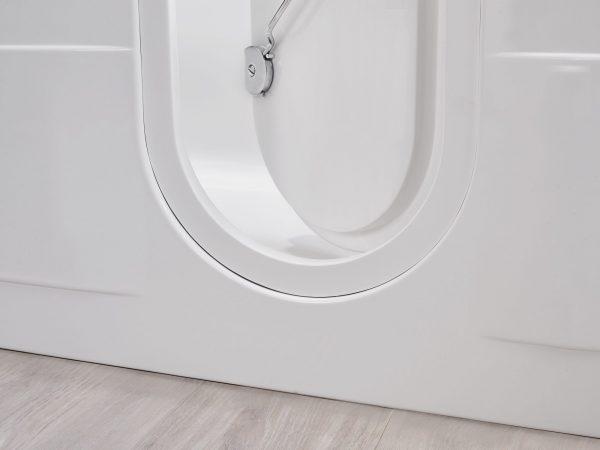 Cotswold walk in bath door detail