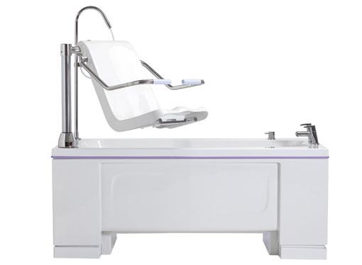 Talano fixed-height bathing system