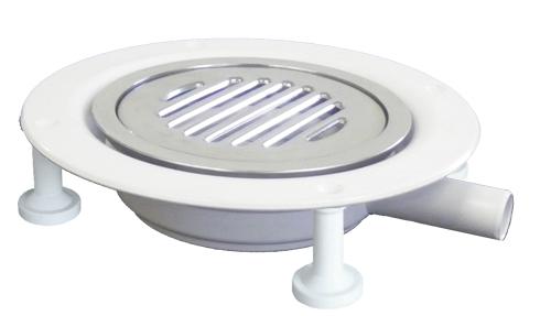 CSG1 Round gully adapter for vinyl flooring