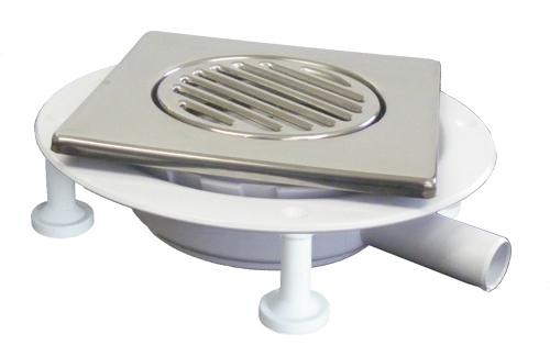 CSG1 square gully adapter for vinyl flooring