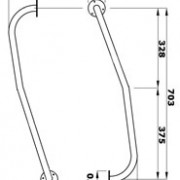 Newel Rail Dimensions