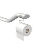 Grabrail Toilet Roll Extension
