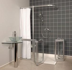 luxury level access shower