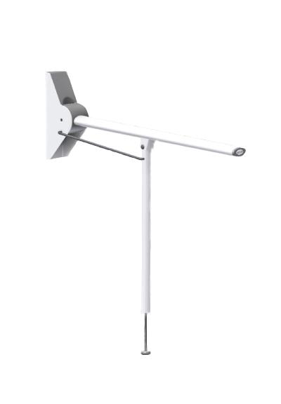 Straight Ergonomic Grabrail with Leg