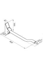 Wave Arm Grabrail Diagram