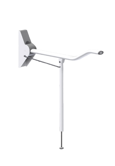Wave Arm Grabrail with Leg