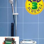 Eco-save Anti-Legionella Mixer Shower & Pump