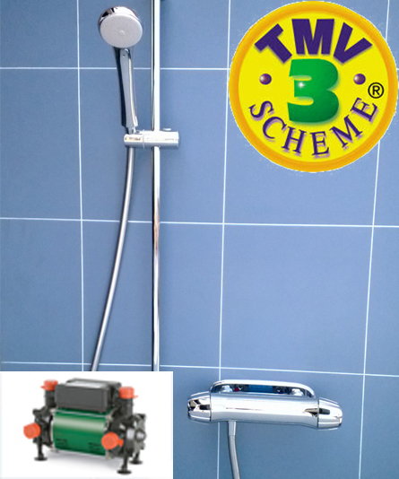 Eco-save Mixer Shower & Pump