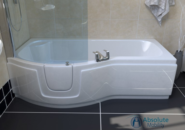 Paragon Walk In Full Length Bath Without Lift