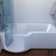 Louisanna Walk In Full Length Bath Without Lift