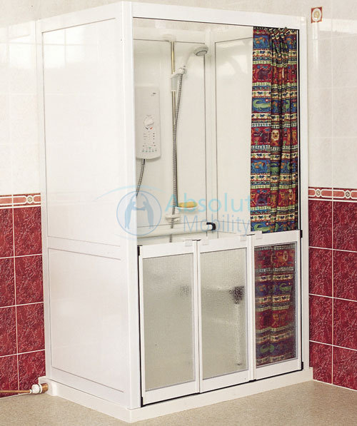 Free Standing Disabled Shower Cubicles