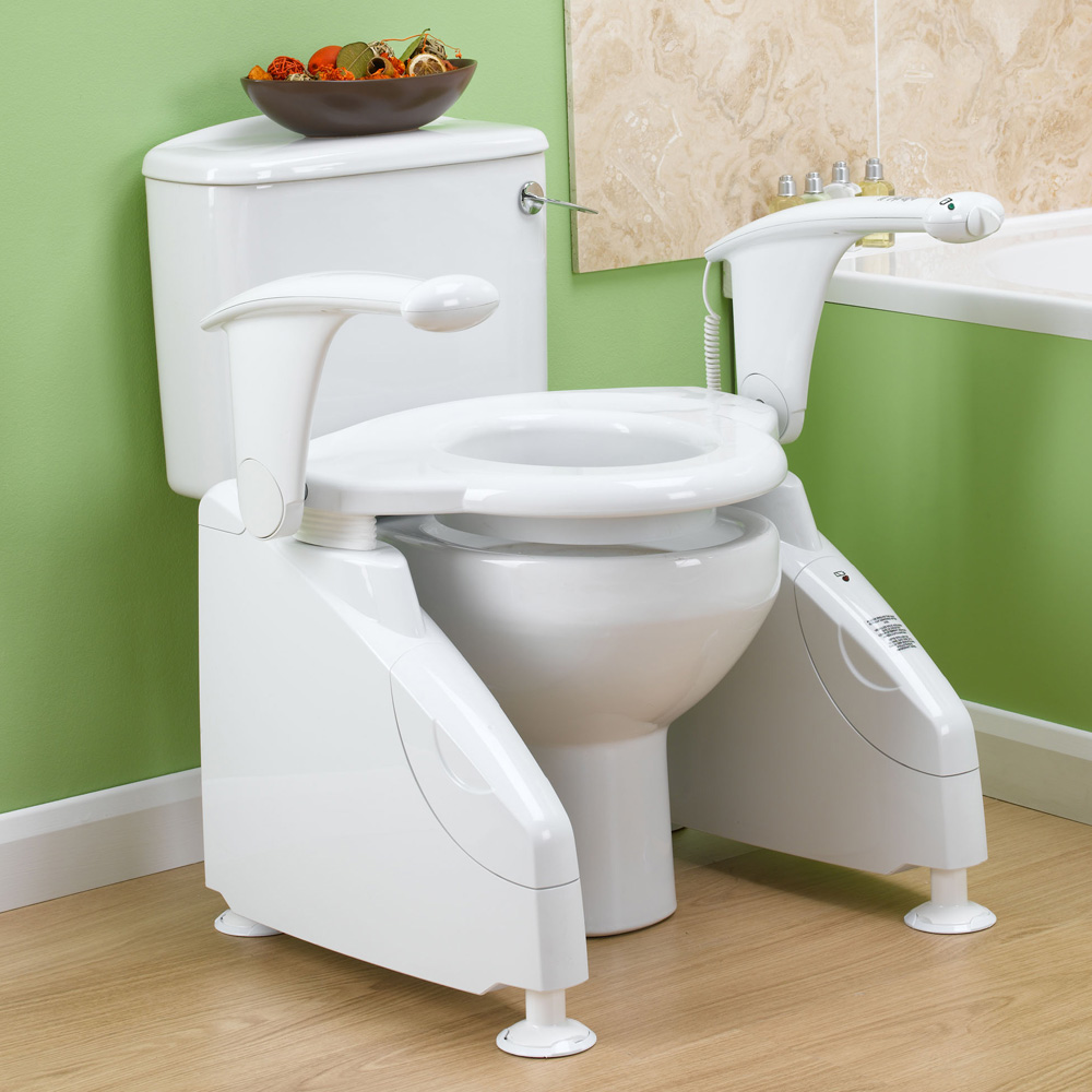 Mountway solo toilet lift absolute mobility for Handicap baths