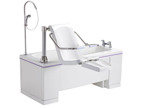 Ezion - Height-Adjustable Bath With Leg-lift