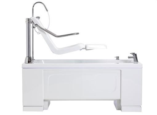 Ezion - Height-Adjustable Bath With Leg-lift