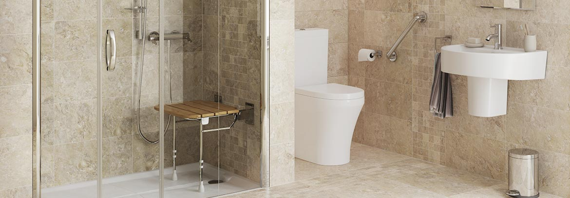 Easy Access Showers For The Elderly and Disabled From Absolute Mobility