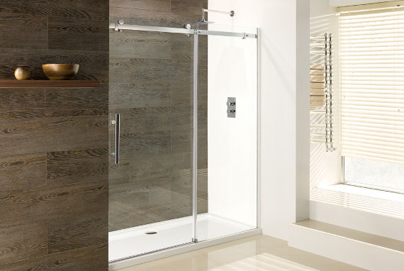 stylish accessible wet room
