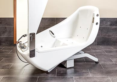 power baths for care homes