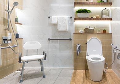accessible wet rooms