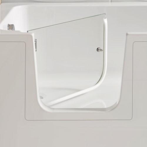 Lenis clear bath door