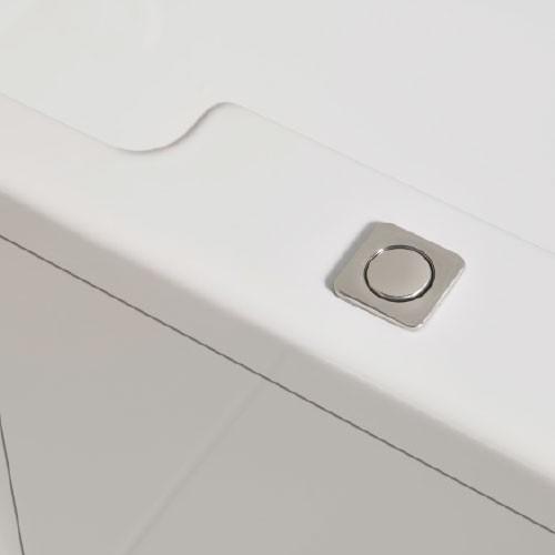 Lenis push button door locking mechanism