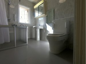 Accessible Bathroom For Motor Neurone Disease Sufferer