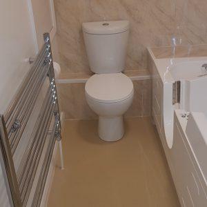 New arthritis friendly bathroom