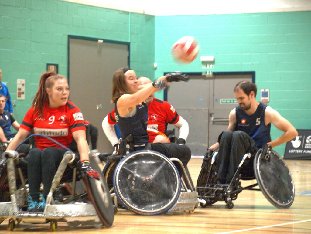 Berkshire Banshees Wheelchair Rugby Team