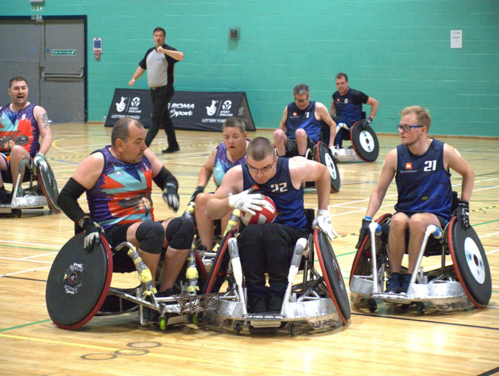 Berkshire Banshee Wheelchair Rugby Squad
