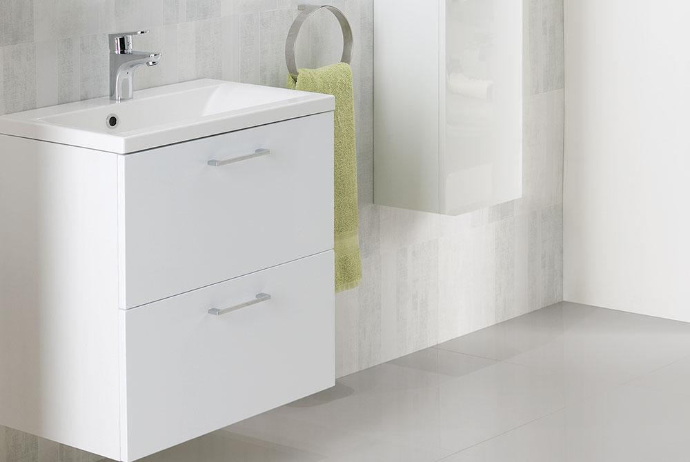 wall mounted vanity unit